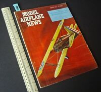 1960 Jan Vintage Model Airplane News USA Aeromodelling Hobby Magazine   (114)