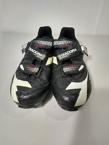 Diadora X Country 2 Mountain Bike Cycling Shoes Mens Size 9 4- Point Closure