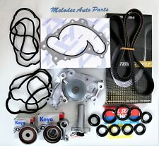 OEM Water Pump & Timing Belt kit W/ Valve Cover Gasket For Toyota / Lexus 1MZFE