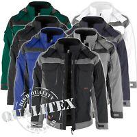 Qualitex Workwear Herren Damen Winter Jacke Arbeitsjacke Berufsjacke