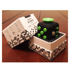 Fidget Cube Children Desk Kids Toy Adults Stress Relief ADHD 6 Side Cube Size