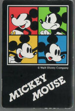 Swap Playing Cards 1 Japanese Disney Mickey Mouse 1990's A173