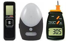 Ghost Hunting 8GB Digital EVP Recorder + LCD Thermometer + Motion Sensor 3KIT