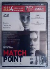 DVD: Match Point (NUEVO, a estrenar con precinto de plástico)