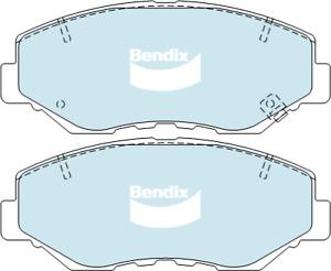 Brake Disc Pad Set Front Bendix DB1481 GCT For HONDA ACCORD CIVIC CR-V