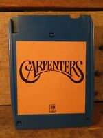 CARPENTERS Self Titled s/t (8-Track Tape) QUADRAPHONIC