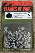 New listing Flames Of War Soviet Flame-thrower Platoon Su717 Battlefront Ww2 New