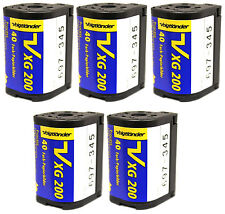 (5 Rolls) Voigtlander APS Film ISO 200 40 Exposures Nexia Advantix Cold Stored