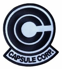 Dragon Ball Z Capsule Corp Patch 8,9cm x 7,6cm Iron on /Sew on