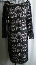 Dress by Wallis fab lace cream lining size 18