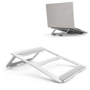 Adjustable Laptop Stand Folding Portable Desktop Holder Office Support Holder UK
