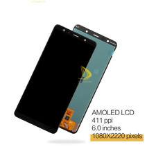 Pour Samsung Galaxy A7 2018 A750F Écran LCD Tactile Digitizer Assemblée Noir #s9