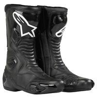 Alpinestars SMX 5 Boots SMX-5  Motorcycle Motorbike Mens Ladies Black SALE