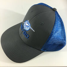 Heybo - Marlin ProLogo Grey/Blue hat - New with Tags