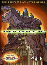Godzilla: The Complete Animated Series (DVD, 2014, 4-Disc Set)