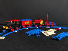 Lego 181 Train Set with Motor, Signals and Shunting Switch Eisenbahn Zug City