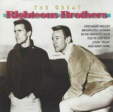 The Great Righteous Brothers - CD, Unchained Melody, Brown Eyed Woman a.m.m. NEW