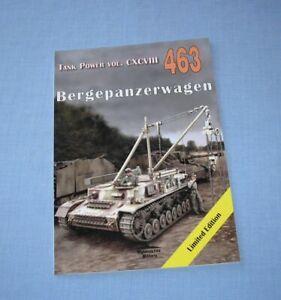Bergepanzerwagen - German evacuation and recovery vehicle Sd.Kfz.164 Tank Power