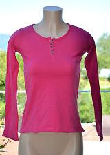 DESIGUAL -Nizza maglietta a maniche lunghe rosa TAGLIA 11/12 anni