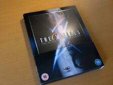 The X-Files - DEUTSCH - Akte X 1 + 2 - Steelbook [Blu-ray] geprägt embossed OOP