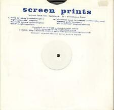 SCREEN PRINTS Noises From the Darkroom 10 INCH VINYL UK Earworm 2000 7 Track