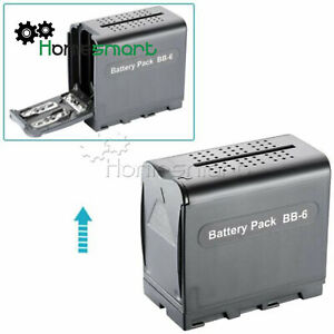 BB-6 Battery Box Pack For SONY NP-F970 AA for DV-96 DV-112 DV-160 DV-216 AHS
