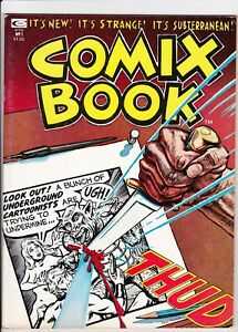 Comix Book #, VF+, 1974, Marvel magazine, art by Deitch