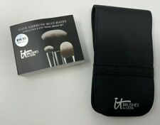 IT COSMETICS YOUR AIRBRUSH MUST HAVES - 3 Piece Face & Eye Travel Brush - NEW