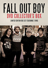 FALL OUT BOY New Sealed 2018 COMPLETE HISTORY & BIOGRAPHY 2 DVD BOXSET