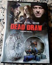 DEAD DRAW UNRATED DVD Gil Bellows Elizabeth Bitsie Tulloch Heist $25 Million