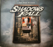 Shadows Fall ‎– The War Within CD DVD and guitar pick heavy metal hardcore