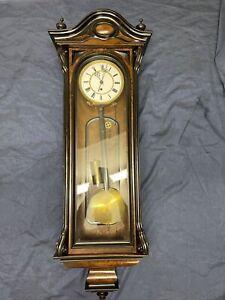Lenzkirch Wiener Regulator Nussbaum Louis Phillppe Wanduhr Pendeluhr Antik Uhr