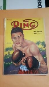 The Ring Boxing Magazine. April 1954. Nino Valdez.
