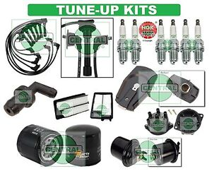 TUNE UP KITS for 95-97 ACCORD V6: SPARK PLUGS, WIRE SET, FILTERS, CAP & ROTOR