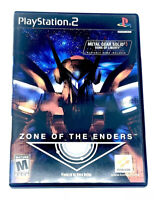 Zone Of The Enders Sony PlayStation 2 PS2