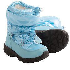 Kamik Prancer Toddler Girl's Blue/Berry PUFF Waterproof Snow Boots