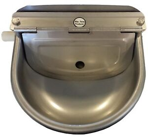STAINLESS STEEL AUTOMATIC STOCK WATERER DRINKER HORSE CATTLE GOAT SHEEP PIG DOG