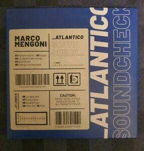 """MARCO MENGONI """"ATLANTICO SOUNDCHECK"""" RARO CD PROMO LIVE - LIMITED FUORI CATALOGO"""