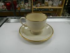 LENOX PRESIDENTIAL COLLECTION MANSFIELD PATTERN CUP & SAUCER