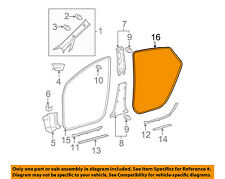 TOYOTA OEM 12-15 Prius Interior-Weatherstrip Seal on Body Right 6233147030C0