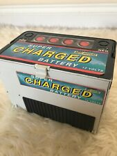 VINTAGE 1989 MICRO MACHINES GALOOB SUPER CHARGED BATTERY TOY RARE ITEM