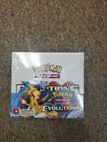 Pokémon Evolutions XY Sealed Unopened Booster box 36 pack box  Evolutions