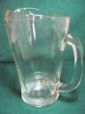 CLEAR GLASS 1 QUART WATER/JUICE PITCHER