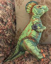 "New Vintage 1992 Applause Dinosaur Plush Cloth Green Hadrosaurus 16"" Mint/tag O6"