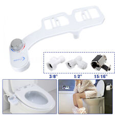 Toilet Seat Attachment Fresh Water Spray Non Electric Mechanical Bidet Nozzle