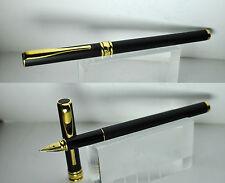 Aurora fountain pen - Magellano - penna stilografica black matte