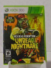 Red Dead Redemption: Undead Nightmare (Microsoft Xbox 360, 2010)