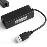 USB 56K V.92 External Dial Up Voice Fax Data Modem fr Win XP 7 8 Linux Excellent