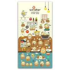 CUTE GAMJA STICKERS Korean Potato Food Puffy Vinyl Sticker Sheet Craft Scrapbook