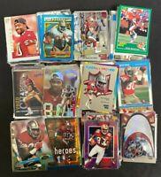 1987-2020 JERRY RICE Lot of 20 Football Cards No Duplicates